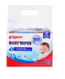 100% Pure Water Baby Wipes 3sX80pcs