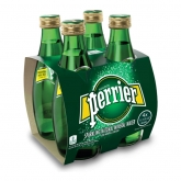 PERRIER MINERAL WATER 4 X 330ML