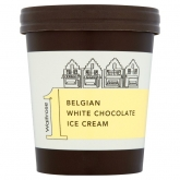 Belgian White Chocolate Ice Cream