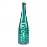 Sparkling Natural Mineral Water Glass 750ml