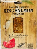 Hot Manuka Smoked King Salmon New Zealand Italiano Style