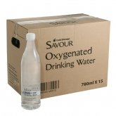 Savour Oxygenated Water 15-Bottle Carton