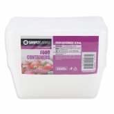 Food Rectangular Container 1L