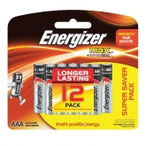Alkaline Max Battery AAA 12s